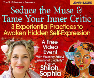 Seduce the Muse & Tame Your Inner Critic: 3 Experiential Practices to Awaken Hidden Self-Expression