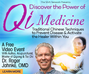 November 10: Discover the Power of Qi Medicine: Traditional Chinese Techniques to Prevent Disease & Activate the Healer Within You