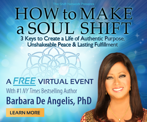 RSVP here for How to Make a Soul Shift: 3 Keys to Create a Life of Authentic Purpose, Unshakeable Peace & Lasting Fulfillment