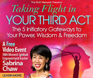 Taking Flight in Your Third Act: The 5 Initiatory Gateways to Your Power, Wisdom & Freedom