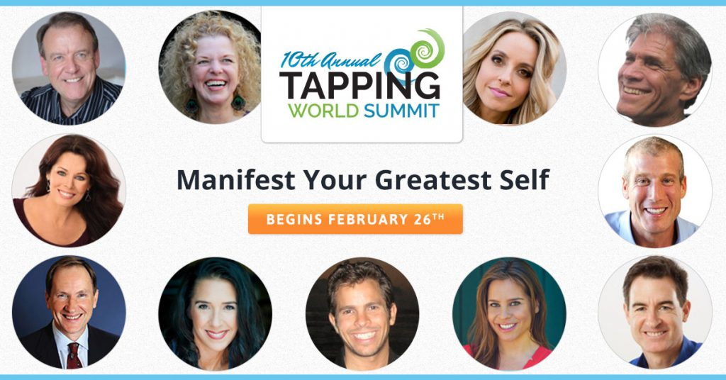 EFT Tapping is a simple, free tool you can use that can help you shift your emotions, relieve stress, alleviate pain, and so much more. During the free 10th Annual Tapping World Summit the world's top EFT Tapping experts will teach you to use EFT to create financial abundance, how to cope with disease and heal, and how to uproot your limiting beliefs. No matter what kind of positive changes you want to make in your life, EFT Tapping can have a profound impact.