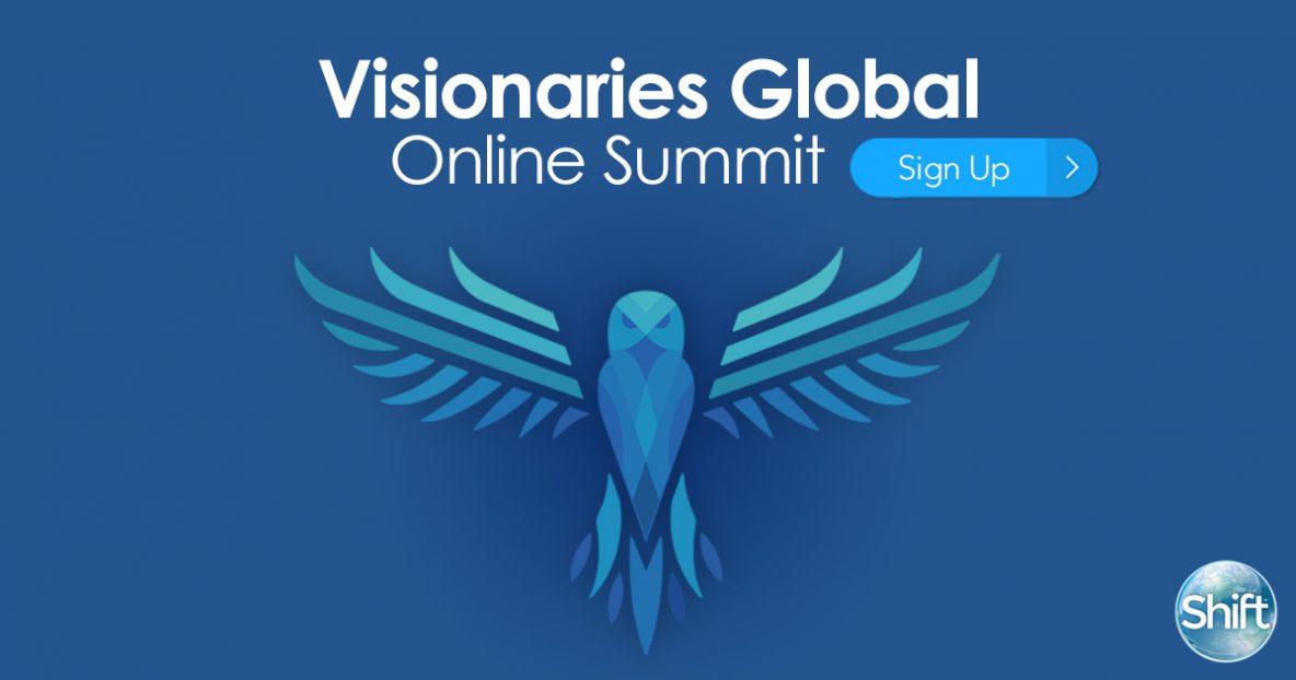 Visionaries Global Summit – free online December 3-5