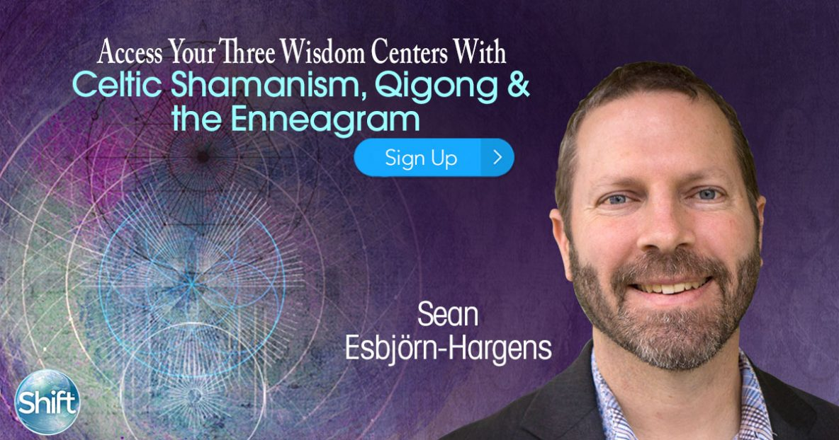 Celtic Shamanism, Qigong & the Enneagram Three Wisdom Centers with Sean Esbjörn-Hargens