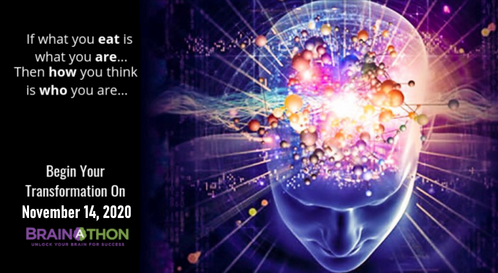 Join 8th Annual Brain-A-Thon to Unlock Your Brain Hidden Power for More Personal Success & financial Freedom - discover all new breakthroughs in neuroscience