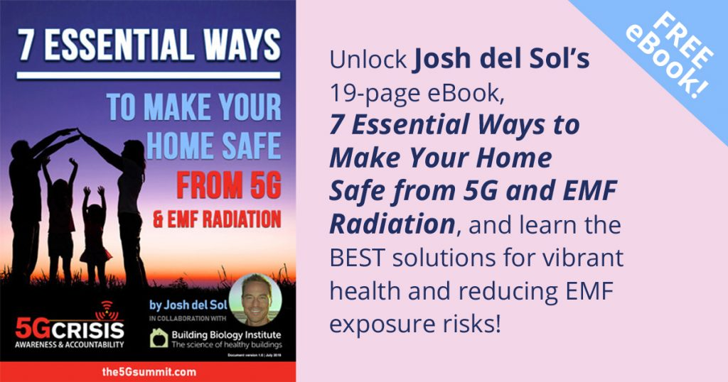 Download Free eBook 7 Essential Ways to Make Your Home Safe from 5G and EMF Radiation