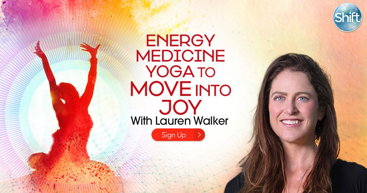 "Energy Medicine Yoga teacher Lauren Walker will show you how Energy Medicine Yoga and working with one of its nine energy systems — the Radiant Circuits — can help you liberate the stuck energies of your difficult emotions, clear the way for more joy, and initiate a ""rebirth"" of your body and mind."