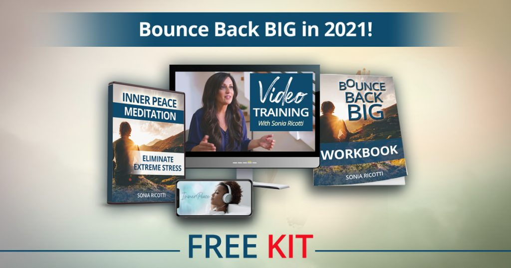 download bounce back big in 2021 free kit with inner peace meditation class