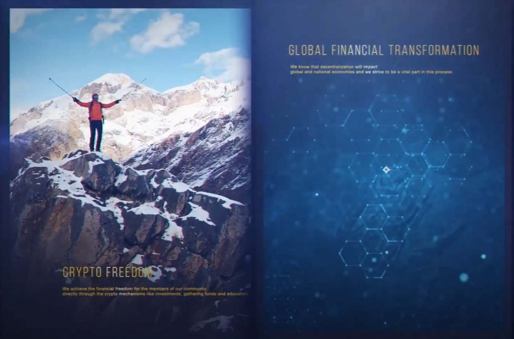 Forsage Code is about Global Financial Transformation Crypto Freedom