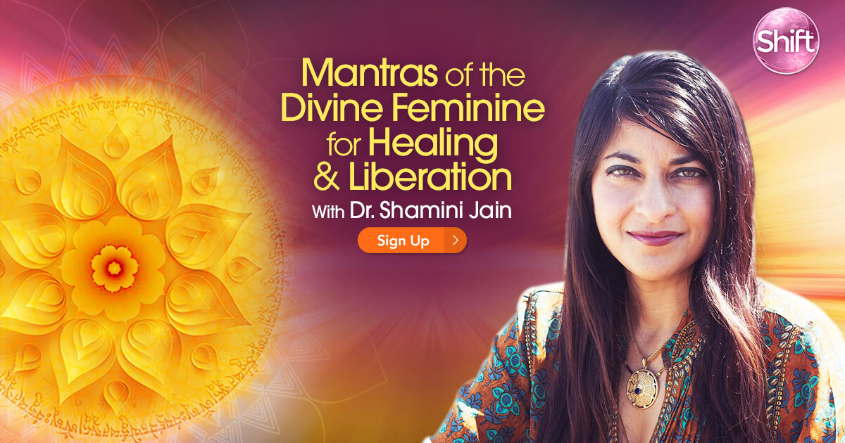 Receive mantras of the Divine Feminine for healing and liberation
