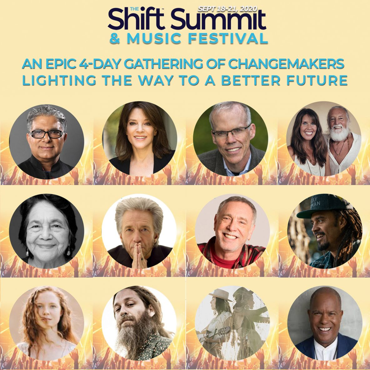 The Shift Music Festival for International Day of Peace September 21