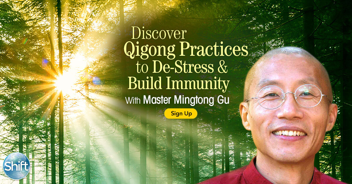 Master Mingtong Gu Qigong Practices to De-Stress & Build Immunity Learn How Chi Flow & Sound Healing Toning Unlock Your Innate Capacity to Self-Heal
