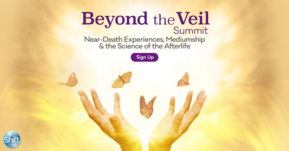 Discover Mediumship Afterlife NDE near-death experience spiritual practice fear of death and life purpose