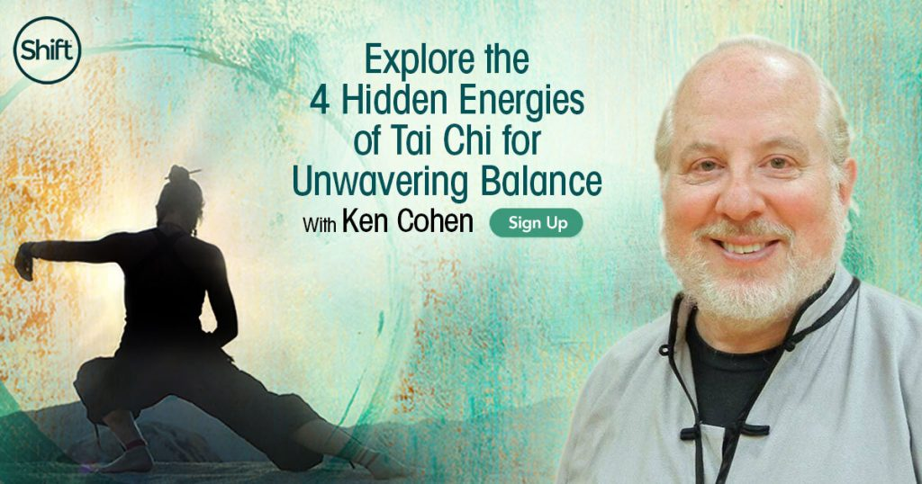 Experience a Tai Chi sequence that can help you release tension and calm your mind