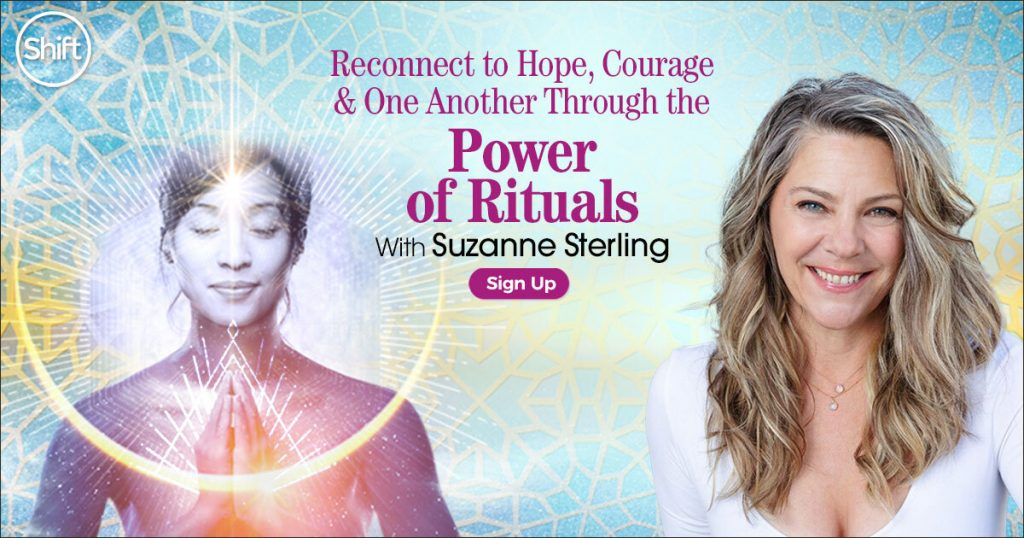 Join free guided visualization to replace sorrow and fear with safety and solace