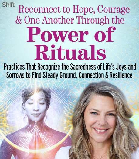 Experience how adding rituals to your life can bring the sacred into any situation