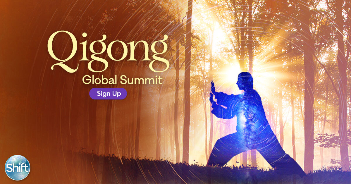 At this Year Qigong Global Summit You will discover how to activate your inner healing potential to release stress, and create a sense of flow and groundedness within the challenges of daily life.