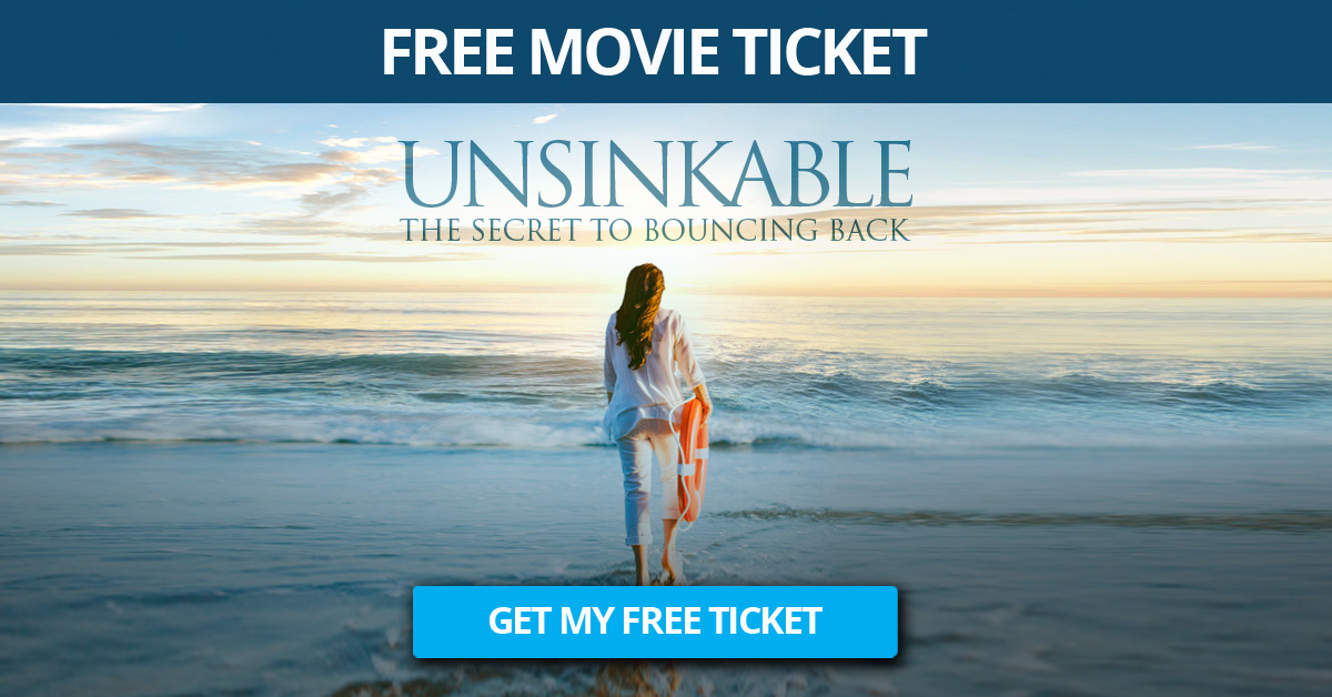 UNSINKABLE MOVIE 2020 THE SECRET TO BOUNCING BACK Sonia Ricotti WATCH FREE HERE
