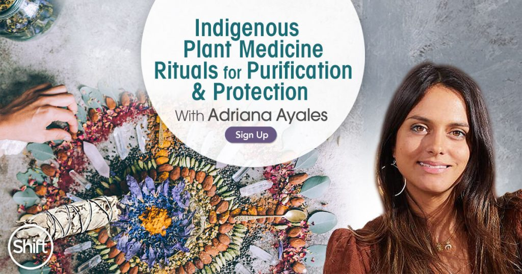 Discover Indigenous Plant Medicine Rituals for Purification & Protection with Adriana Ayales