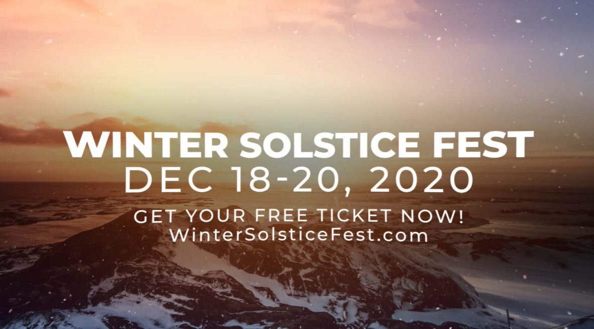 Join kindred spirits all around the globe to celebrate the December solstice... Release 2020 and start fresh in 2021!