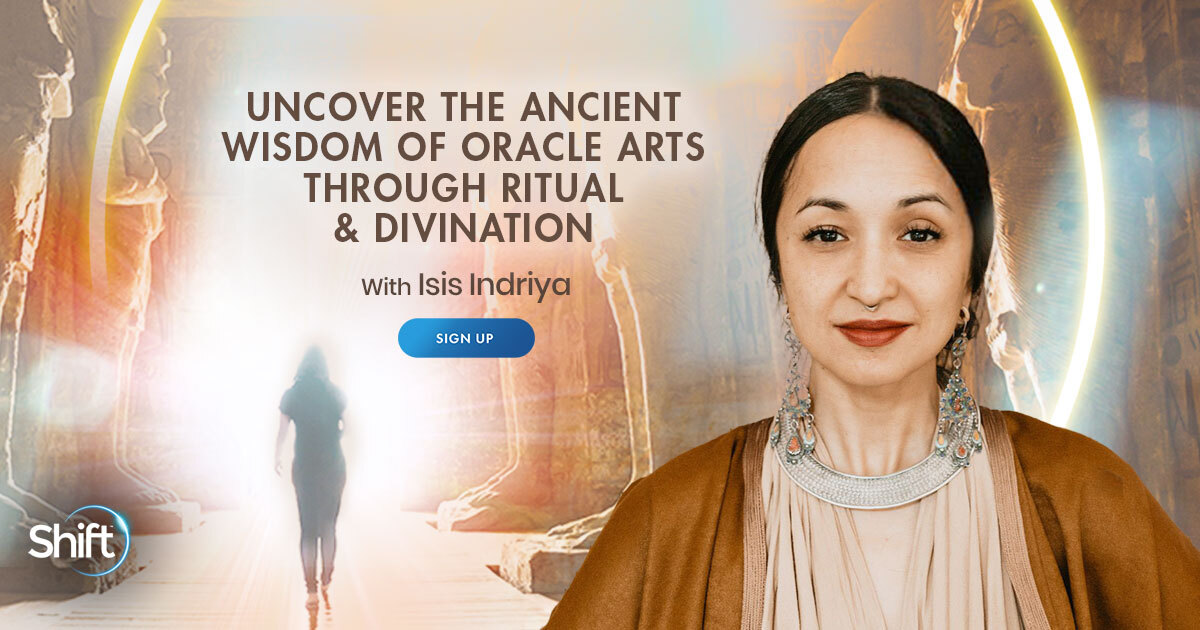 Uncover the Ancient Wisdom of Oracle Arts Through Ritual & Divination with Isis Indriya
